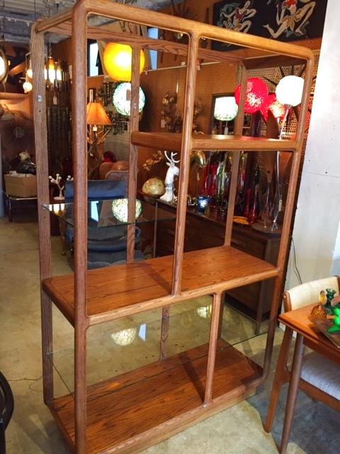 画像1: Modern Wood Shelf (1)