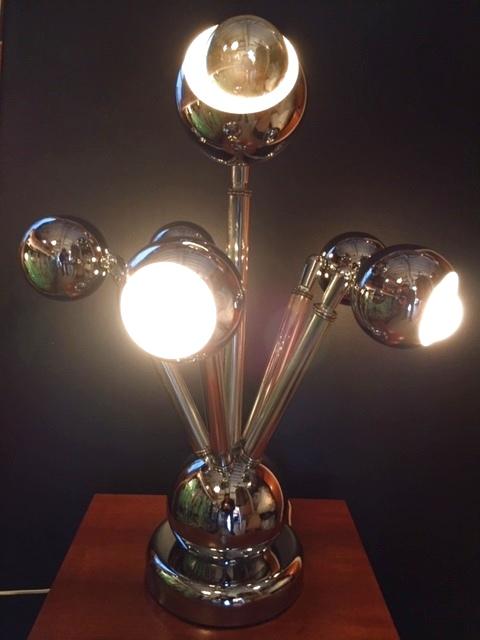 画像1: 5灯 Chrome Lamp (1)