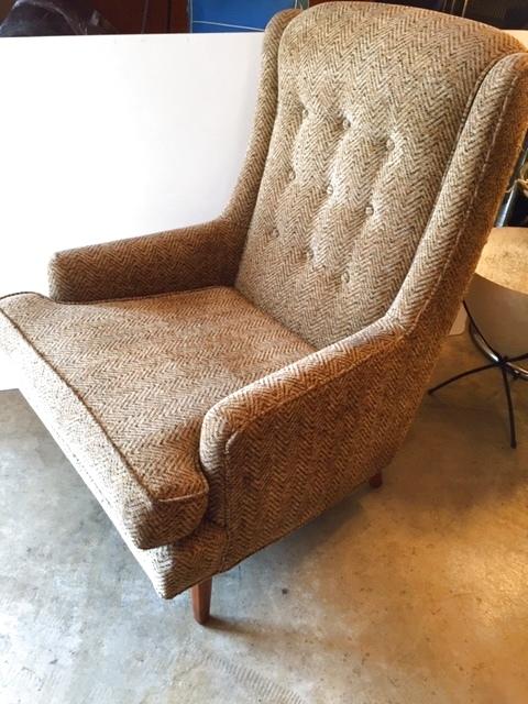 画像1: Vintage 1P Sofa (1)