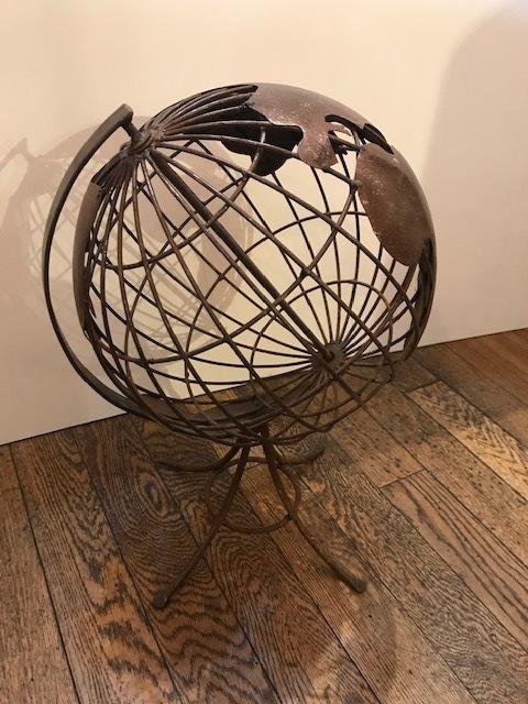 "画像1: ""Iron Globe""Ornament (1)"
