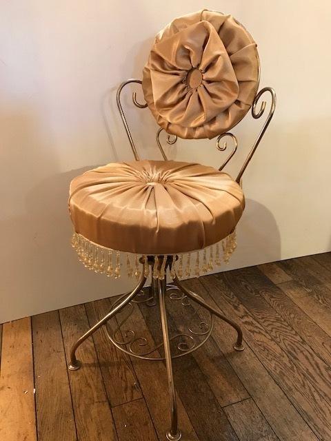 画像1: Vintage Vanity Chair (1)