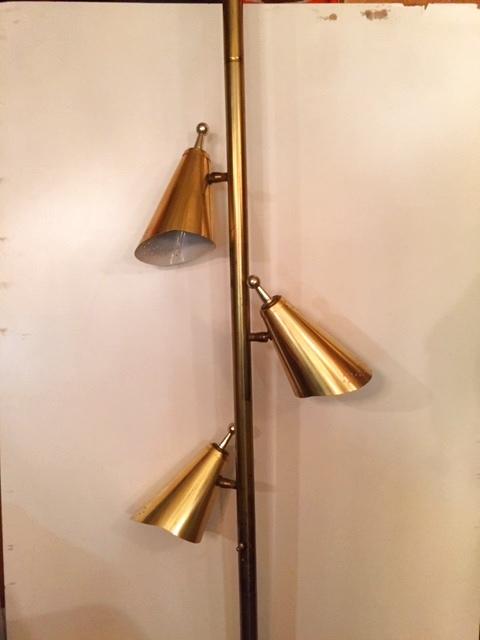 画像1:  Vintage Pole Lamp (1)