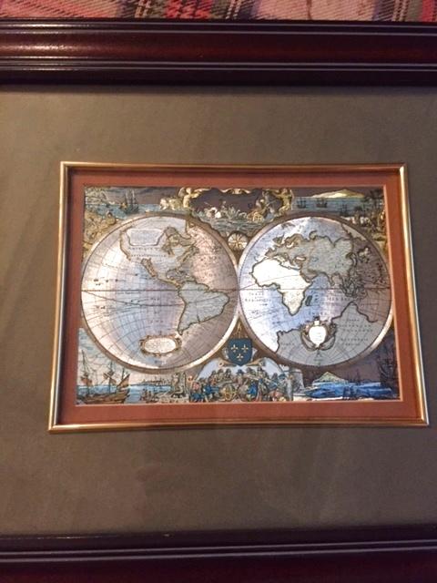 """画像1: """"Globe Art"""" Wall Hang (1)"""