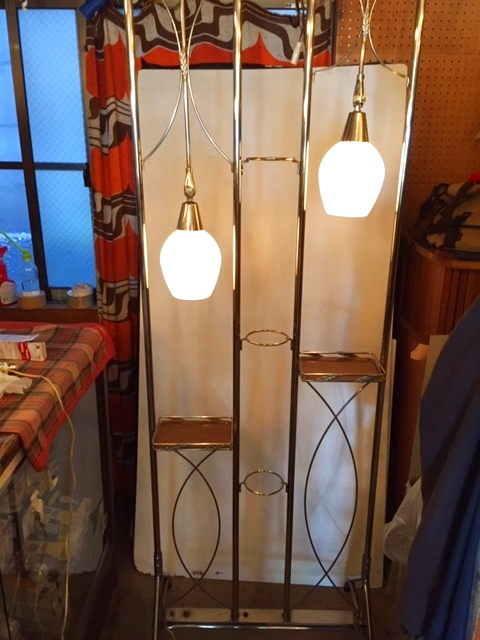 画像1: 50`s Partition Lamp (1)