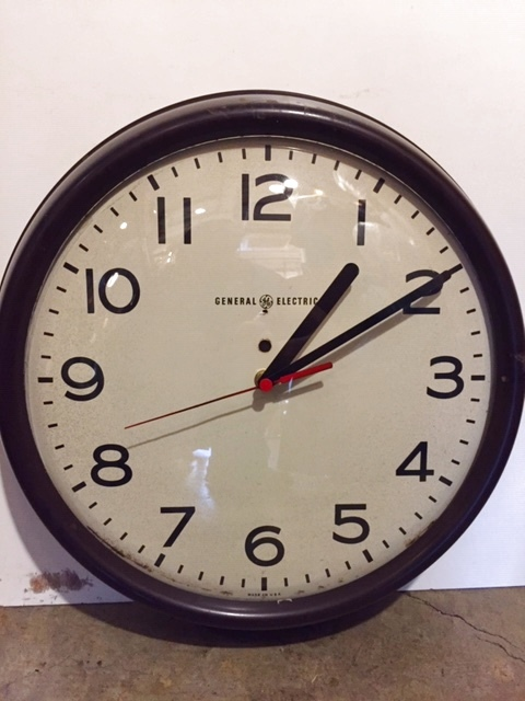"画像1:  ""GE""Wall Clock (1)"