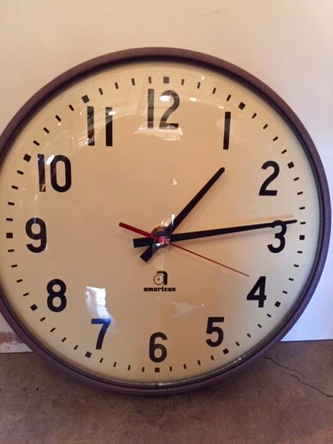 """画像1:  """"american""""Wall Clock (1)"""