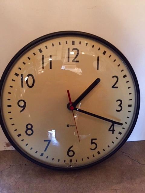"画像1:  ""Simplex""Wall Clock (1)"