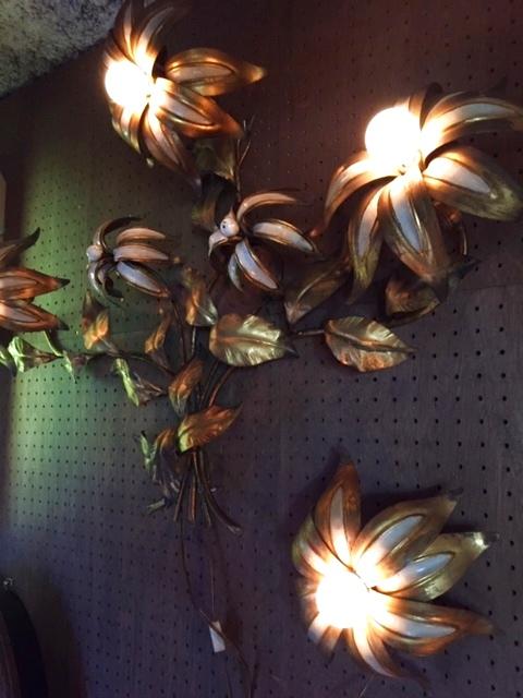 """画像1: """"Flower"""" Wall Lamp (1)"""