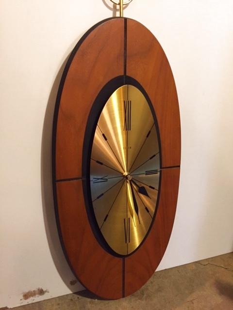 """画像1:  """"ELGIN"""" Wall Clock (1)"""