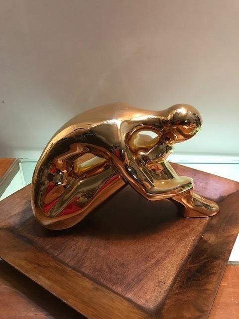 画像1: Woman Pottery Ornament  (1)
