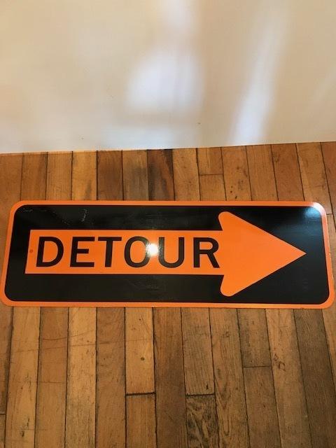 """画像1: """"DETOUR"""" Sign (1)"""