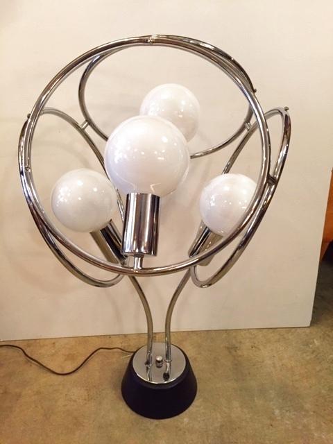 画像1: 4灯 Chrome Lamp (1)