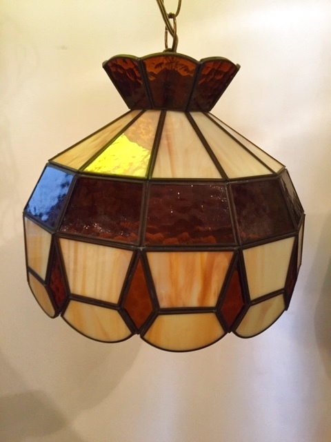 画像1: Stained glass Pendant Light (1)