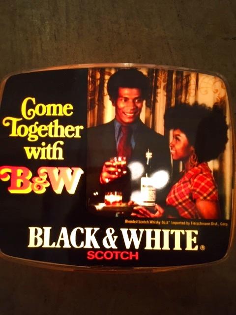 """画像1: """"Black&White Scotch""""  Light Sign (1)"""