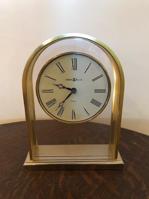 """画像1:   """"HOWARD MILLER"""" Desk Clock (1)"""