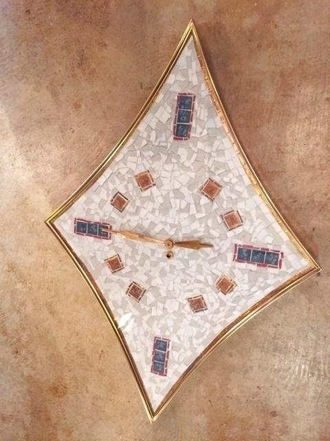 """画像1: """"Rhombic""""Wall Clock (1)"""
