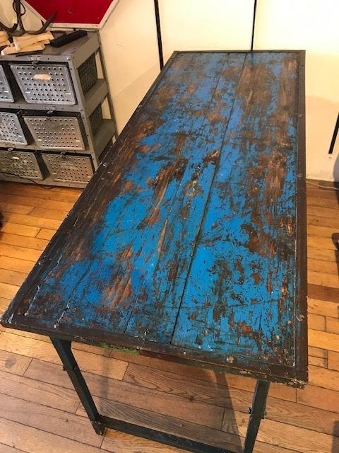 画像1: Vintage Work Table (1)