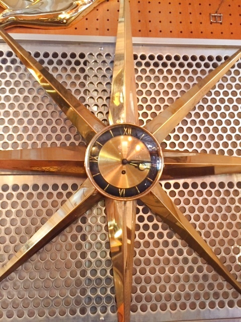 "画像1:  ""WELBY"" SunBurst Clock (1)"