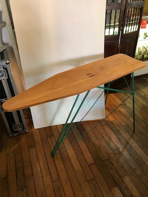 画像1: Vintage Iron Table (1)