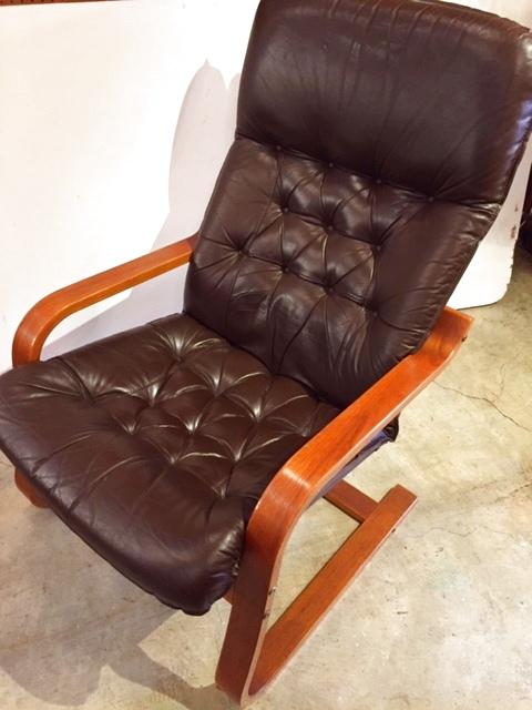 画像1: Leather  Arm Chair (1)