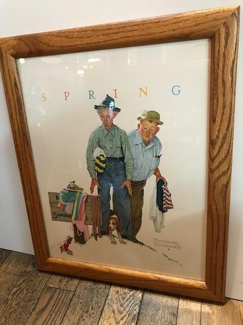 """画像1: """"Norman Rockwell"""" Wall Hang (1)"""