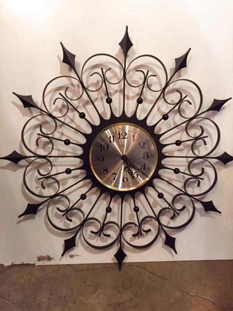 """画像1:  """"Elgin"""" SunBurst Clock (1)"""