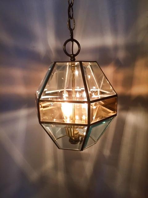 画像1: Gold Pendant Light (1)