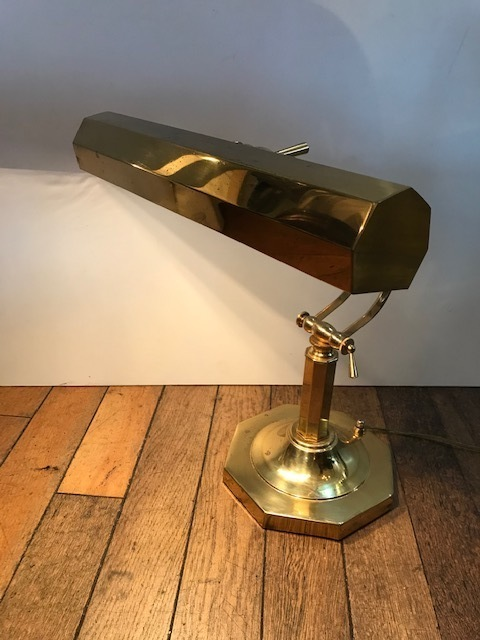 画像1: Gold  Desk Light   (1)