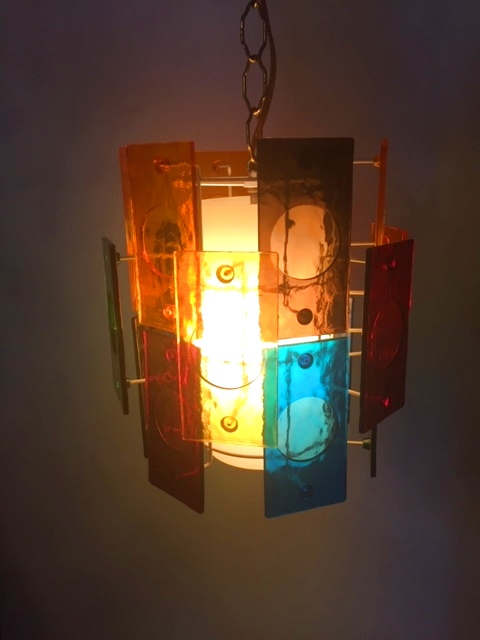 画像1: Color Panel Pendant Light (1)