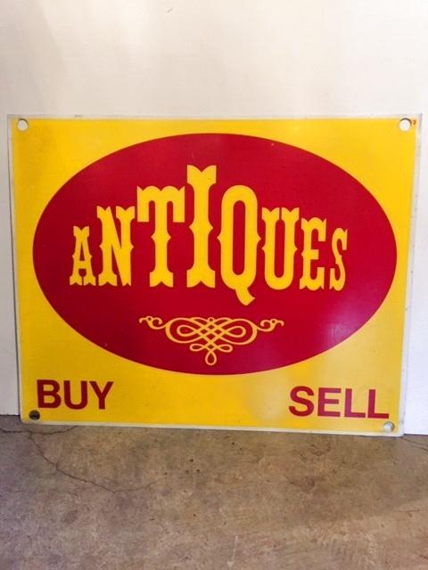 """画像1: """"ANTIQUES""""   Sign (1)"""