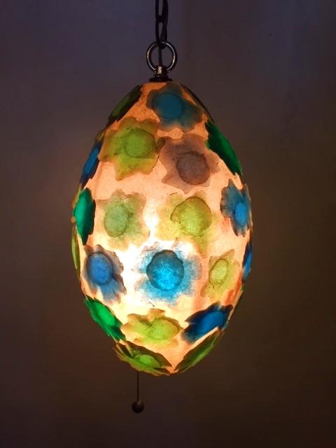 画像1: Lucite Pendant Light  (1)