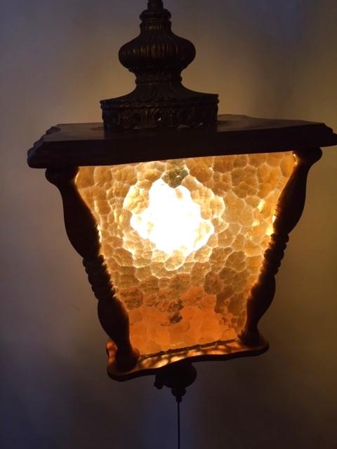 画像1: Wood Pendant Light  (1)