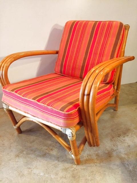 """画像1: """"VOGUE""""Rattan  Arm Chair (1)"""