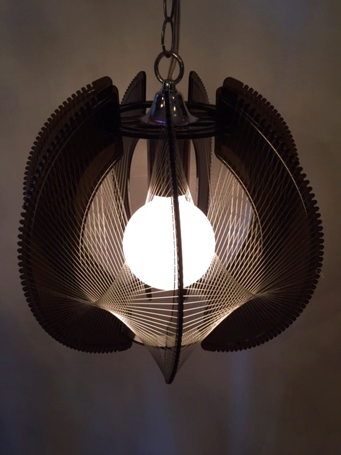"""画像1: """"Strings"""" Pendant Light (1)"""