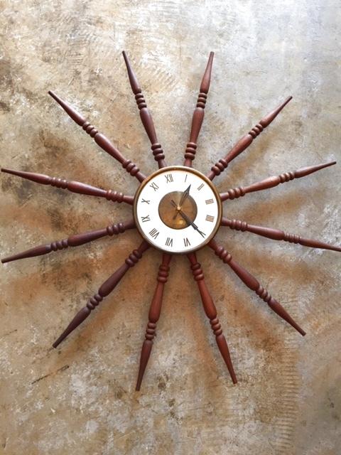 画像1: SunBurst Wall Clock (1)