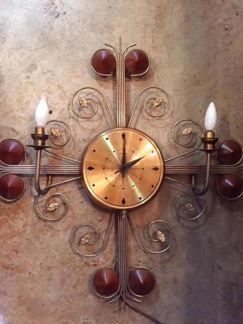 画像1: Lighting Wall Clock (1)
