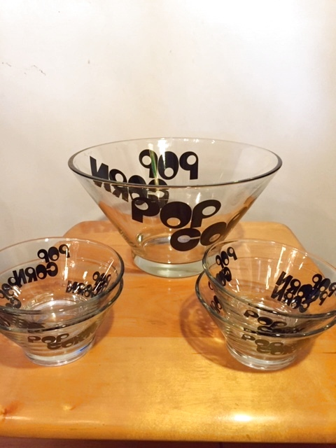 "画像1: ""POP CORN""Glass Bowl (1)"