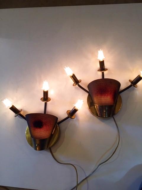 """画像1: """"fifties"""" Wall Lamp (1)"""