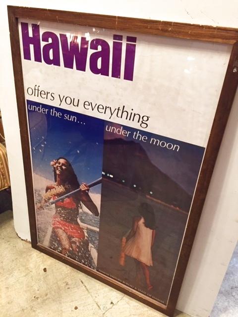 """画像1: """"VINTAGE """" Hawaii poster (1)"""