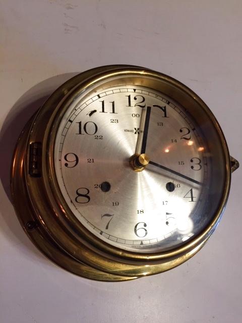 """画像1: """"HAWARD MILLER"""" Marine Clock (1)"""