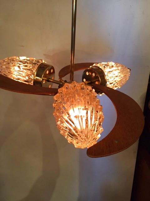 画像1: 3灯Modern Pendant Light (1)