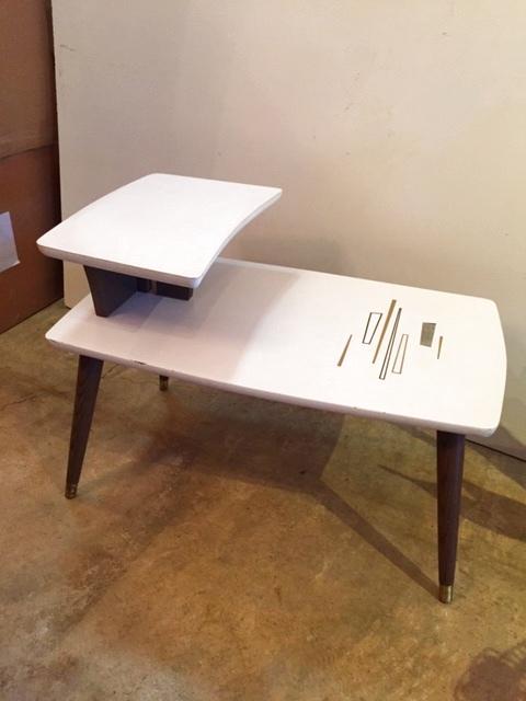 画像1: Vintage Side Table (1)