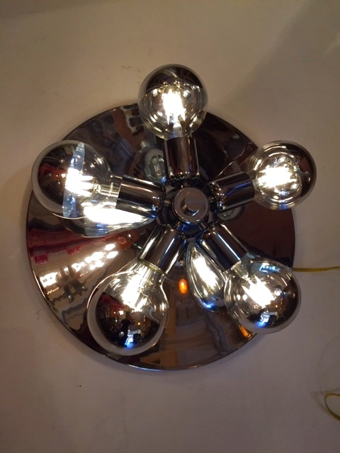 """画像1: """"SpaceAge"""" Wall Lamp (1)"""