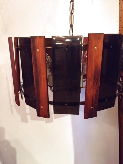 画像1: Modern Panel Pendant Light (1)