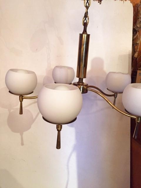 画像1: Modern 5灯 Pendant Light (1)