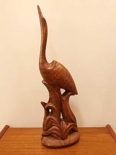 画像1: Pottery Swan Ornament (1)