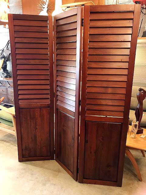 画像1: Vintage Wooden Partition (1)