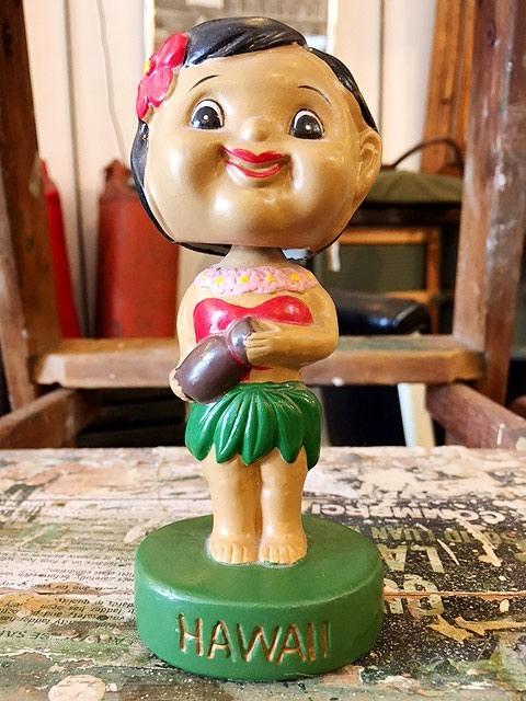 画像1: Vintage Hula Bobble Head (1)