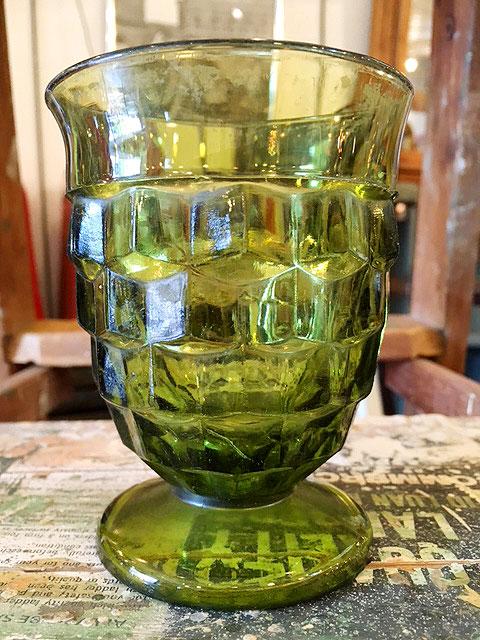 画像1: Vintage Green Stained Glass (1)