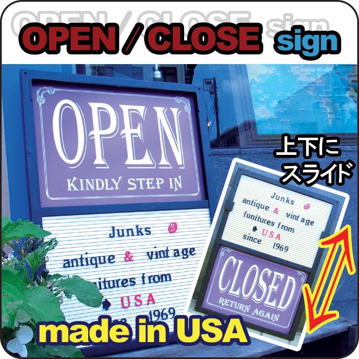 """画像1: OPEN/CLOSED sign・オープンサインボード """"全国送料無料"""" (1)"""